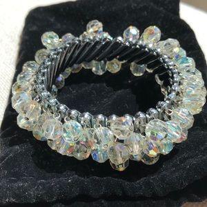 Aurora Borealis Stretch bracelet. Ex. Condition